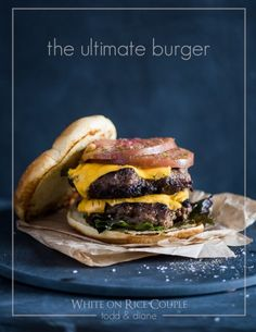 Craving a great hamburger patty recipe with savory flavor and umami? This burger recipe is awesome and secret ingredient is the fish sauce, garlic & sugar