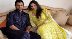 New Delhi(PTI): Indian tennis star Sania Mirza and her cricketer husband Shoaib Malik are expecting their first child, due in the month of October this year Shoaib Malik, Tennis Stars, Anushka Sharma, Beautiful Wife, News Today, Cricket, Going Out, Sari, Pretty