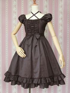 This Victorian Maiden dress is simple, but cute.