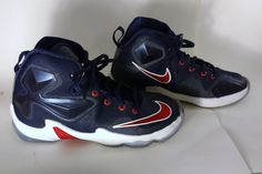 New Nike LeBron James XIII 13 (PS) Basketball Shoes 808710 461 Youth Size 13C…