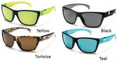 Going fast standing still – you won't mind getting pulled over in these great shades. Speedtrap's TR90 grilamid nylon frame combines a hint of retro with a modern vibe. Injected polycarbonate polarized lenses are impact resistant and lightweight.