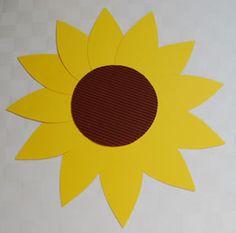 schablonen 2 schablone sonnenblume mit hexentreppe sonnenblume pinterest blumen basteln. Black Bedroom Furniture Sets. Home Design Ideas