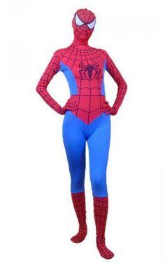 Spiderman for girls  sc 1 st  Pinterest & Spiderman Future Foundation Costume | White and Black Spandex Lycra ...