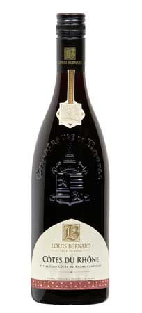 Featured for Spring unWINE Downtown: Louis Bernard Cotes Du Rhone, France > soft and open with plum and black cherry fruit kissed with a hint of toasty vanilla