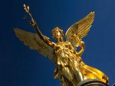 """Friedensengel München , Visit the """"peace angel"""", #munich"""
