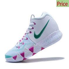 5197286ffdad 2018 Authentic 2018 New Nike Kyrie 4 IV White and Pink-Mint Green sneaker  Air