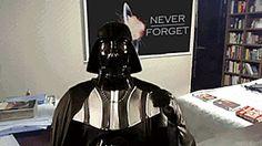 Interruptig Darth Vader interview.