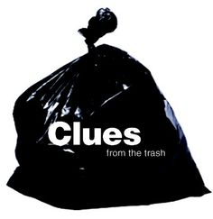 Clues from the trash..I do this introducing Context Clues...my students love it!