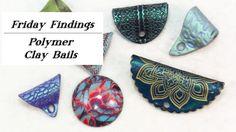 DIY Polymer Clay Jewelry Bails tutorial by Sandy Huntress-KeepsakeCrafts.net