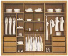 sugestão interior de guarda roupa - Pesquisa Google