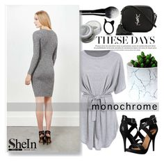 """""""Shein contest"""" by pinki1994 ❤ liked on Polyvore featuring Marc Jacobs, Miss Selfridge, Michael Antonio, Yves Saint Laurent and shein"""