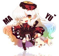 Mayu fanart by haru #Vocaloid #otaku