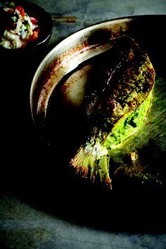 Baked sea bream. #VivekSingh #IndianCookbooks #IndianCuisine