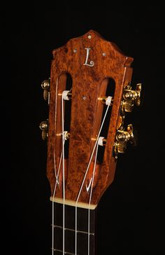 Granadillo Tenor Ukulele with cedar top built by NC luthier Jay Lichty, Lichty Guitars