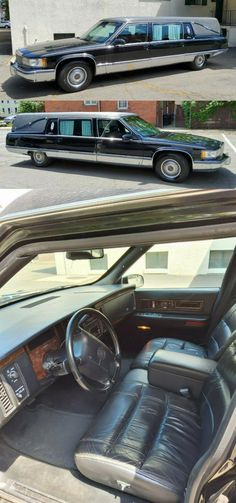 1996 Cadillac Fleetwood S&S Victoria Hearse [well maintained] Cadillac Fleetwood, Victoria, Car, Automobile, Autos, Cars