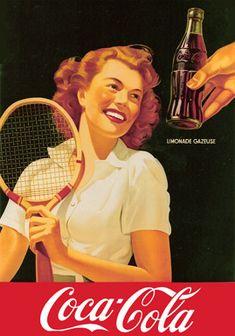 tennis and coca cola