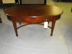 Better Value Furniture - Drexel Heritage 142-803 Abbey Oval Cocktail Table, $428.00 (http://www.bettervaluefurniture.com/drexel-heritage-142-803-abbey-oval-cocktail-table/)