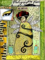 Teesha Moore Visual Journal Page