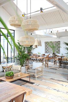 Cafe Interior, Home Interior Design, Interior Decorating, Cheap Home Decor, Diy Home Decor, Cafe Design, House Design, Tulum, Living Room Decor