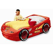 Little Tikes Disney Pixar's Cars The Movie Lightning McQueen Plastic Toddler Bed