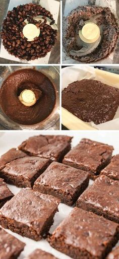 This is the BEST black bean brownie recipe I've ever tasted. No eggs, flour, or dairy, so they are vegan and naturally gluten-free. So rich and fudgy!