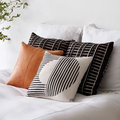 African Mud Cloth Pillows   Black & White   Reversible – The Citizenry