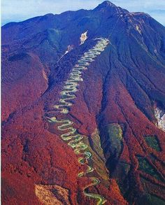 Mt. Iwaki Japan,  6.6 mile climb
