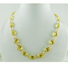 Designer Studded Gold Necklaces