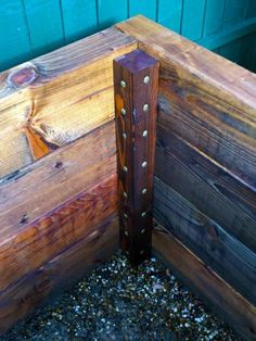 Les Mables raised beds with bench seats from new railway sleepers – Raised Garden Beds