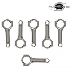 Toyota 2jzgte 4340 Forged Connecting Rods I-beam , set of 6 , fully CNC machined , email : rebecca@hurricane-rod.com.cn .