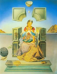 Salvador Dali – The Madonna of Port Light – First Version