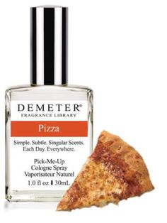 You know Demeter Fragrances? I first learned about their fragrance Dirt. Yup, that's right. Not mud. That's a completely different smell. They've now released Pizza and from what the reviewers say (wait, you didn't know that's a job?) it's pretty good. A warning for you Saint Louisians: Mozzarella, not Provel. [22-01-14]