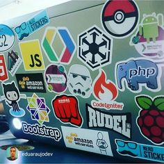 Something we loved from Instagram! Enviado pelo nosso cliente @eduaraujodev E o meu note é assim!  #html5 #github #bootstrap #centos #linux #javascript #amazon #googledevelopers #gdgsp #gdgdevfest #RaspberryPi #phpcodeigniter #php #sith #stormtrooper #starwars #koral #rudel #nerdstickers #bynerdstickers #soudev by nerdstickers Check us out http://bit.ly/1KyLetq