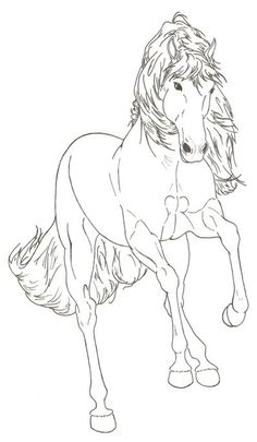 Horse Hasufel by ReQuay.deviantart.com on @deviantART