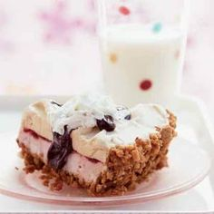 Malt Shop Ice Cream Pie - Think of this no-cook pie as a deconstructed hot fudge sundae in an ice-cream cone--crushed cones form the crust cradling the malt-flavored ice cream and toppings.