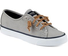 Sperry Top-Sider Seacoast Canvas Sneaker (in Ivory or Light Charcoal, Size 9.5)