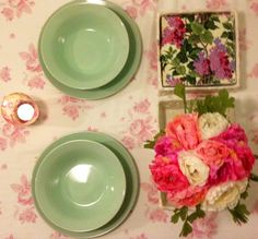 Floral is served!