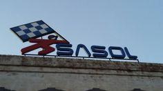 Old Sasol Sign