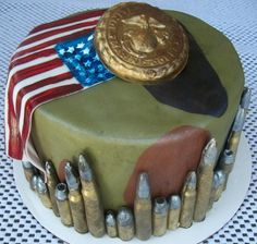 Military Themed Cake for a 13 year old boy