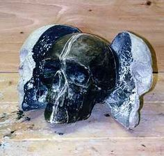 Make multiple skulls from one skull using paper mache