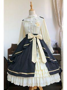 Kawaii Fashion, Lolita Fashion, Cute Fashion, Cosplay Dress, Cosplay Outfits, Old Fashion Dresses, Fashion Outfits, Pretty Outfits, Pretty Dresses