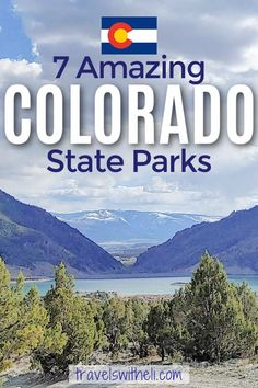 Planning a camping trip in Colorado? This guide will help you pick the perfect campground in one of these seven amazing Colorado State Parks. Tips on what to do, best campsites, available recreation activities, hiking, and a helpful map. #colorado #campingtrip #campgrounds #travelswitheli Colorado River, Colorado Mountains, Travel With Kids, Family Travel, Colorado National Monument, Sylvan Lake, Parks Department, San Juan Mountains, Travel Information