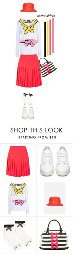 """""""Put a Bow On'"""" by dianefantasy ❤ liked on Polyvore featuring McQ by Alexander McQueen, Off-White, Boutique Moschino, Moschino, Betsey Johnson, women's clothing, women, female, woman and misses"""