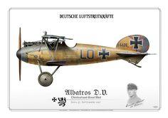 Albatros DV Ernst Udet Jasta 37 September 1917