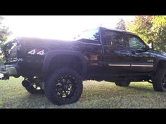 blacked out 2005 duramax - - Yahoo Image Search Results Lifted Chevy Trucks, Yahoo Images, Image Search, Monster Trucks, Black, Black People