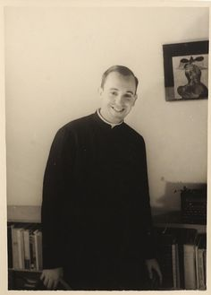 "Pope Francis - Seminary of Argentina 1966, when his name was Jorge Mario Bergoglio. Follow the story of Pope Francis through our ""In the Footsteps of the Pope"" Seminar. http://creativelearning.org/what-we-do/gei/in-the-footsteps-of-the-pope/"