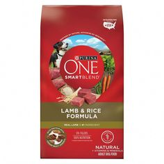 Purina One Smartblend Natural Chicken & Rice Formula Adult Dry Dog Food – Lb. Pack – Purina One Smartblend Natural Chicken & Rice Formula Adult Dry Dog FoodReal Chicken Is The Ingredient Mineral Food, Dog Food Recipes, Chicken Recipes, Healthy Recipes, Dog Storage, Dry Dog Food, Pet Food, Natural Vitamins, Chicken Rice