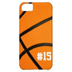 Basketball Texture Personalized # iPhone5 case iPhone 5C Cases. Also be cute with a volleyball