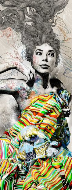 Gabriel Moreno –more (amazing) images @ http://www.juxtapoz.com/Illustration/gabriel-moreno –Gabriel Moreno, Illustration
