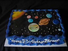 Planet solar system cake | Flickr - Photo Sharing!